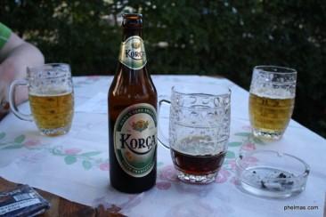 In Korça getrunken!