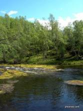 Wanderung in Lappland