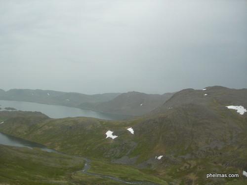 Magerøya, die Nordkapinsel - im Regen. :(
