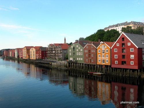 Speicherhäuser, Trondheim