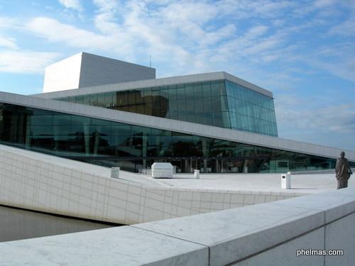 Neue Oper, Oslo (mit begehbarem Dach)